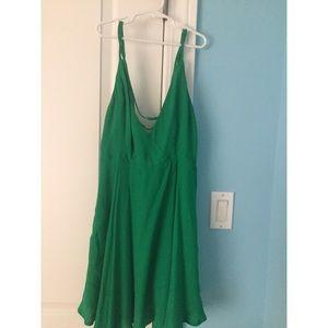 Green forever 21 summer dress